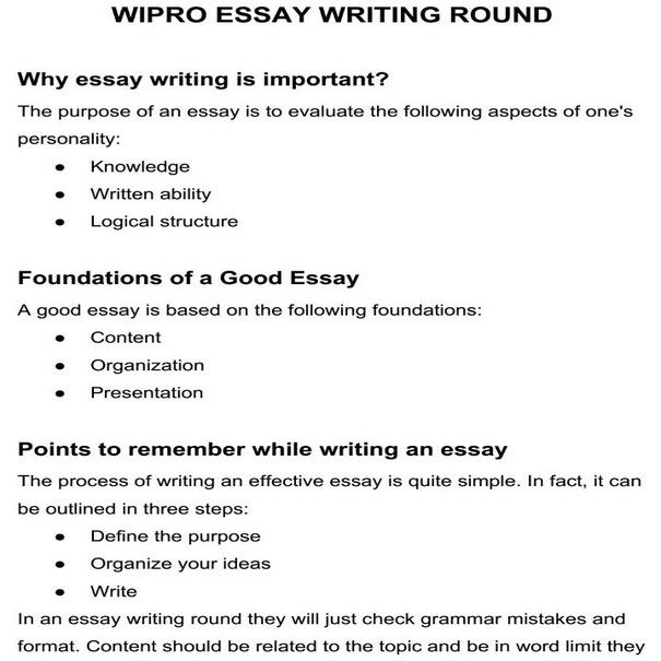 essay writing round in wipro-1